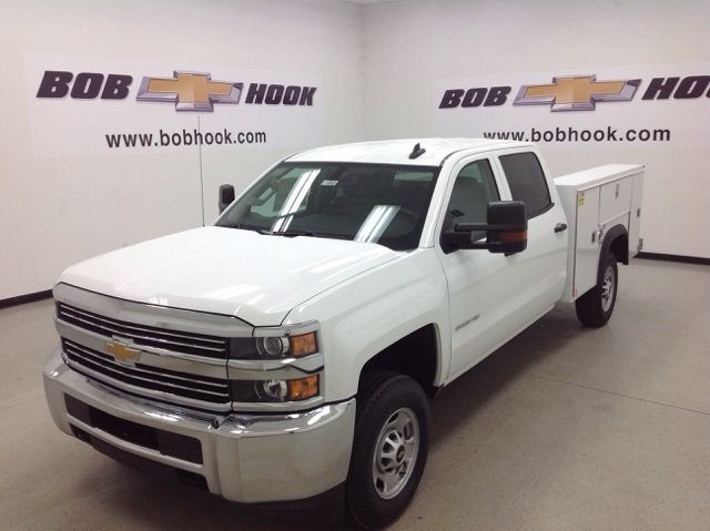 2017 Silverado 2500 Crew Cab, Monroe Service Body #171062 - photo 5