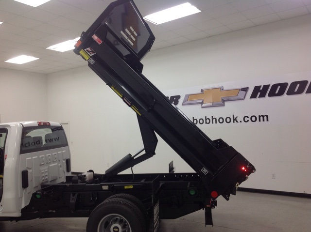 2017 Silverado 3500 Regular Cab 4x4, Monroe Dump Body #171156 - photo 16