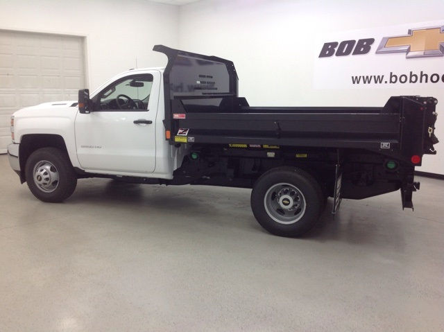 2017 Silverado 3500 Regular Cab 4x4, Monroe Dump Body #171156 - photo 7