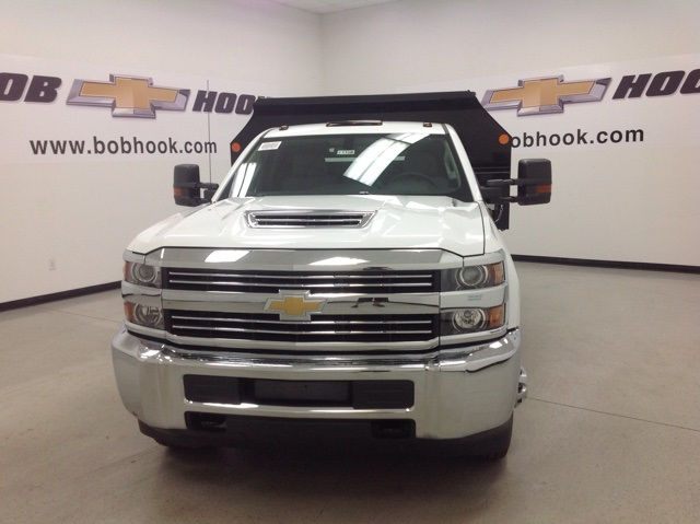 2017 Silverado 3500 Regular Cab 4x4, Monroe Dump Body #171156 - photo 8