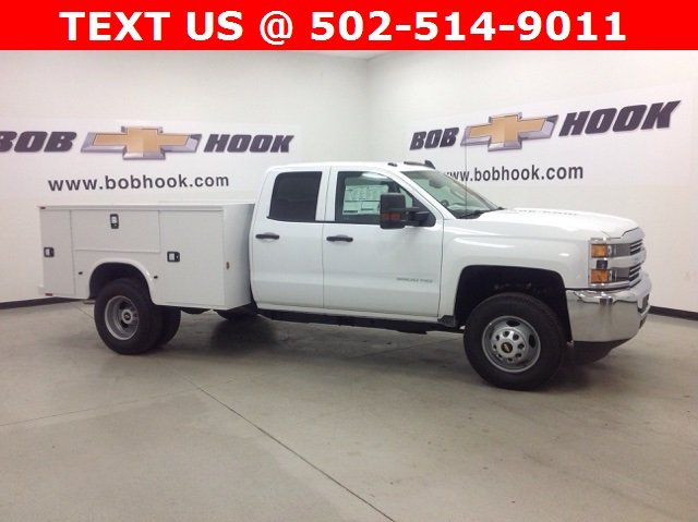 2017 Silverado 3500 Double Cab 4x4, Knapheide Service Body #171162 - photo 3