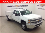 2017 Silverado 3500 Double Cab 4x4, Knapheide Service Body #171162 - photo 1
