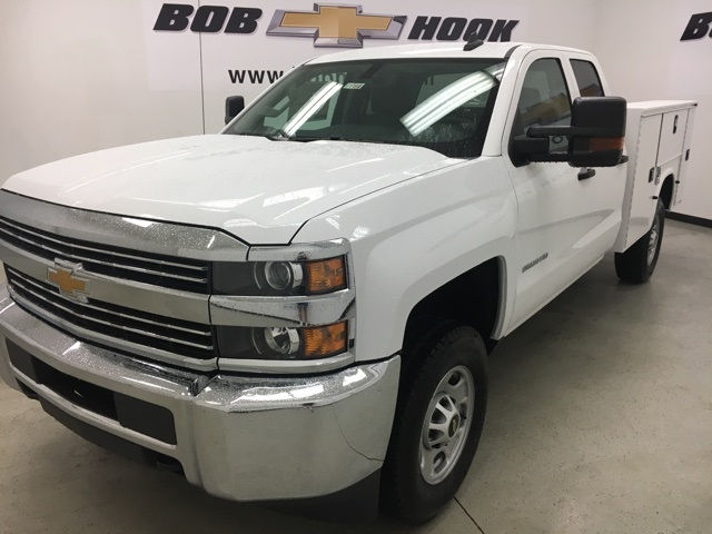 2017 Silverado 2500 Double Cab 4x4, Knapheide Service Body #171166 - photo 6