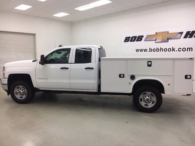 2017 Silverado 2500 Double Cab 4x4, Knapheide Service Body #171168 - photo 5