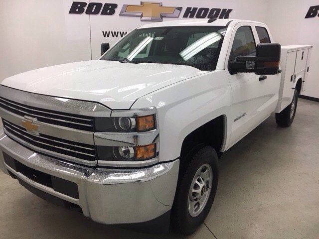 2017 Silverado 2500 Double Cab 4x4, Knapheide Service Body #171168 - photo 7