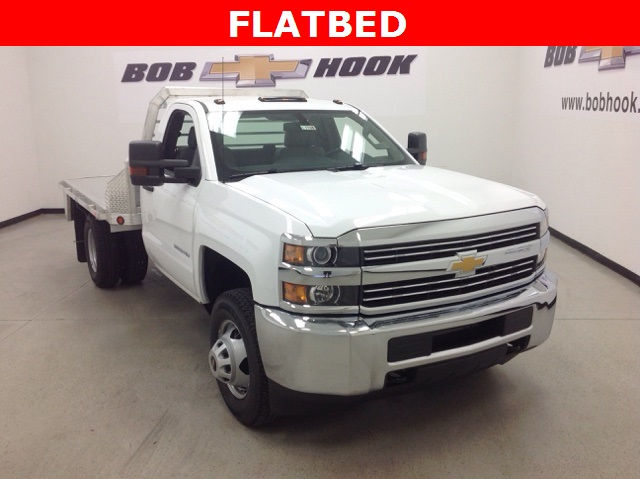 2017 Silverado 3500 Regular Cab 4x4, Monroe Platform Body #171188 - photo 3