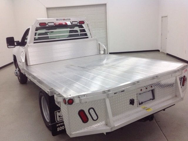 2017 Silverado 3500 Regular Cab DRW 4x4, Duramag Platform Body #171188 - photo 5