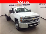 2017 Silverado 3500 Regular Cab 4x4, Monroe Platform Body #171188 - photo 1