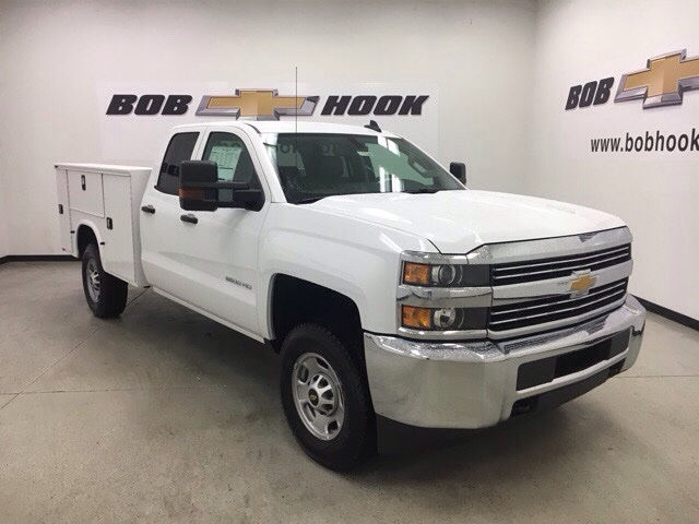 2017 Silverado 3500 Double Cab 4x4, Knapheide Service Body #171194 - photo 9