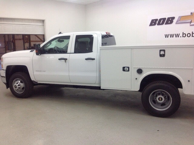 2017 Silverado 3500 Double Cab 4x4, Knapheide Service Body #171194 - photo 6