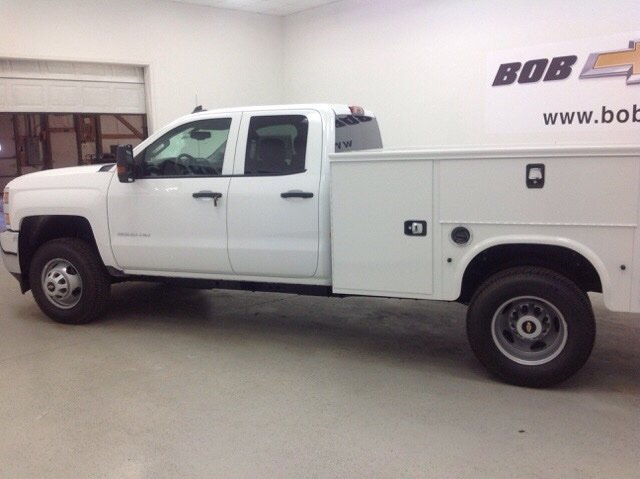 2017 Silverado 3500 Double Cab 4x4, Knapheide Service Body #171194 - photo 5