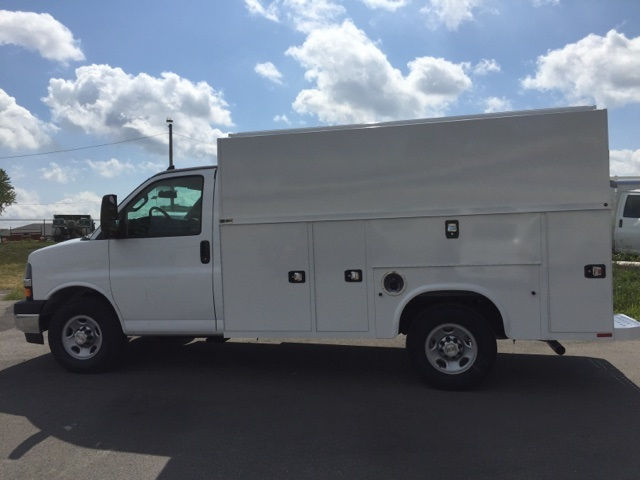 2017 Express 3500, Knapheide Service Utility Van #171203 - photo 5