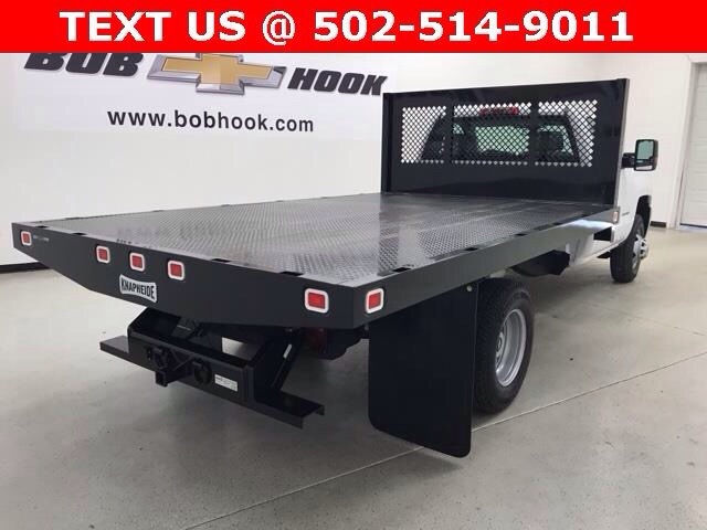 2017 Silverado 3500 Regular Cab, Monroe Platform Body #171221 - photo 3