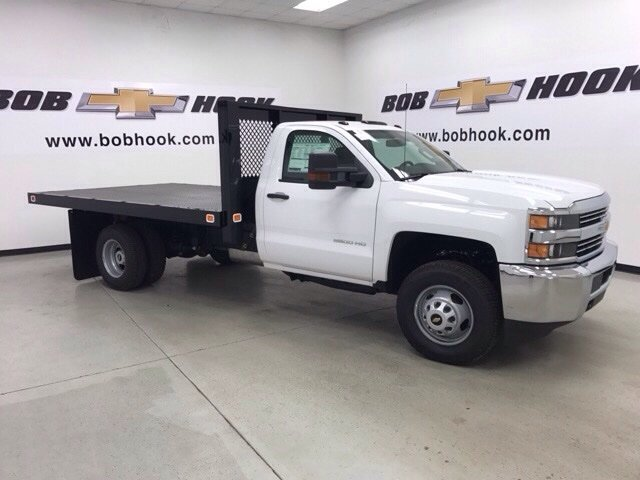 2017 Silverado 3500 Regular Cab DRW, Monroe Platform Body #171224 - photo 5