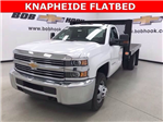 2017 Silverado 3500 Regular Cab, Monroe Platform Body #171224 - photo 1