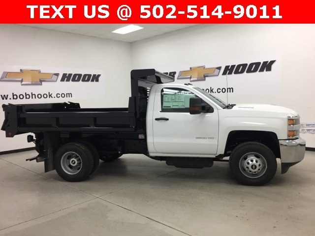 2017 Silverado 3500 Regular Cab DRW 4x4, Air-Flo Dump Body #171246 - photo 3