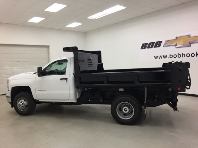 2017 Silverado 3500 Regular Cab DRW 4x4, Air-Flo Dump Body #171246 - photo 6