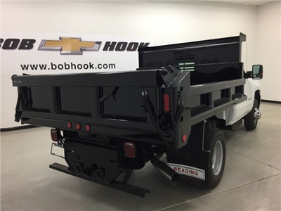 2017 Silverado 3500 Regular Cab DRW 4x4, Air-Flo Pro-Class Dump Body #171246 - photo 2