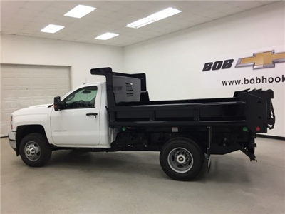 2017 Silverado 3500 Regular Cab DRW 4x4, Air-Flo Pro-Class Dump Body #171246 - photo 6