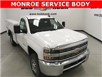2017 Silverado 2500 Regular Cab 4x4, Monroe Service Body #171255 - photo 1