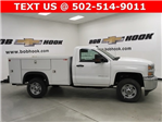 2017 Silverado 2500 Regular Cab 4x4, Monroe MSS II Service Body #171255 - photo 3