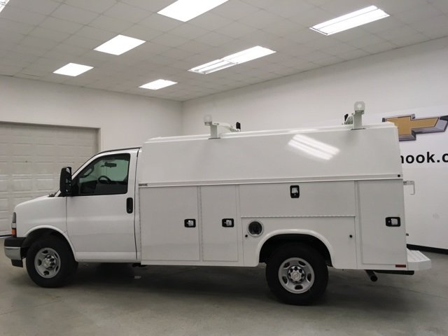 2017 Express 3500, Knapheide Service Utility Van #171292 - photo 6