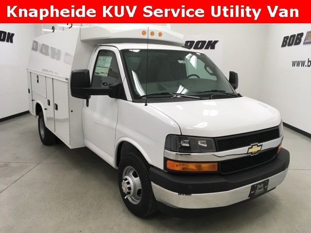2017 Express 3500, Knapheide Service Utility Van #171346 - photo 18