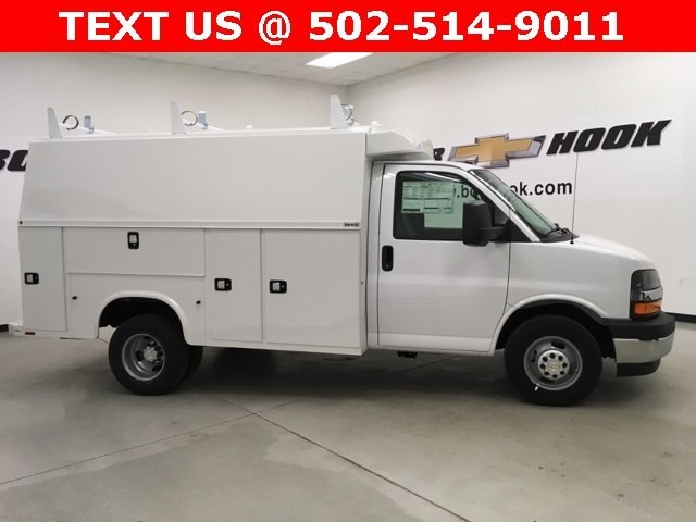 2017 Express 3500, Knapheide Service Utility Van #171346 - photo 19