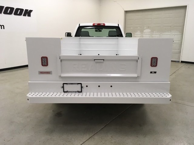 2017 Silverado 3500 Regular Cab DRW 4x4, Reading Service Body #171354 - photo 4