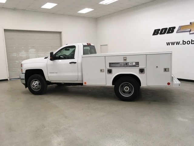 2017 Silverado 3500 Regular Cab DRW 4x4,  Reading Service Body #171354 - photo 7