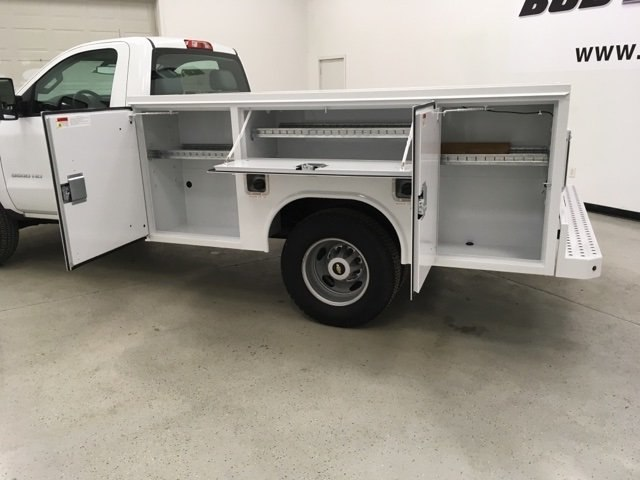 2017 Silverado 3500 Regular Cab DRW 4x4,  Reading Service Body #171354 - photo 14