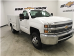 2017 Silverado 3500 Regular Cab DRW 4x4, Reading Service Body #171354 - photo 1
