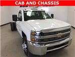 2018 Silverado 3500 Regular Cab, Cab Chassis #180105 - photo 1