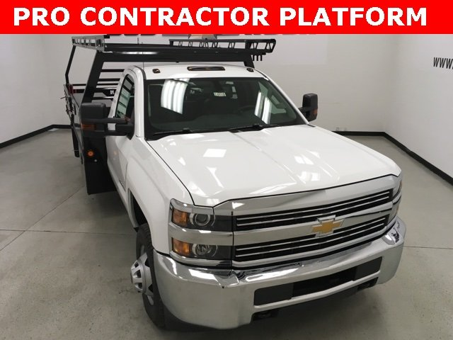 2018 Silverado 3500 Regular Cab DRW 4x2,  Freedom ProContractor Contractor Body #180173 - photo 1