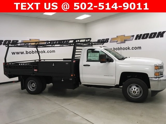 2018 Silverado 3500 Regular Cab DRW, Freedom Contractor Body #180173 - photo 15