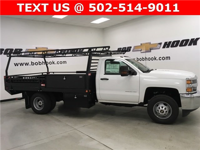 2018 Silverado 3500 Regular Cab DRW 4x2,  Freedom ProContractor Contractor Body #180173 - photo 15