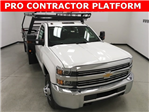 2018 Silverado 3500 Regular Cab DRW 4x2,  Freedom Contractor Body #180173 - photo 1