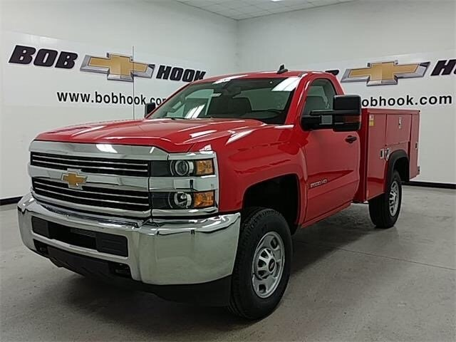 2018 Silverado 2500 Extended Cab, Reading Service Body #180189 - photo 5