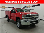 2018 Silverado 2500 Extended Cab, Reading Service Body #180189 - photo 1