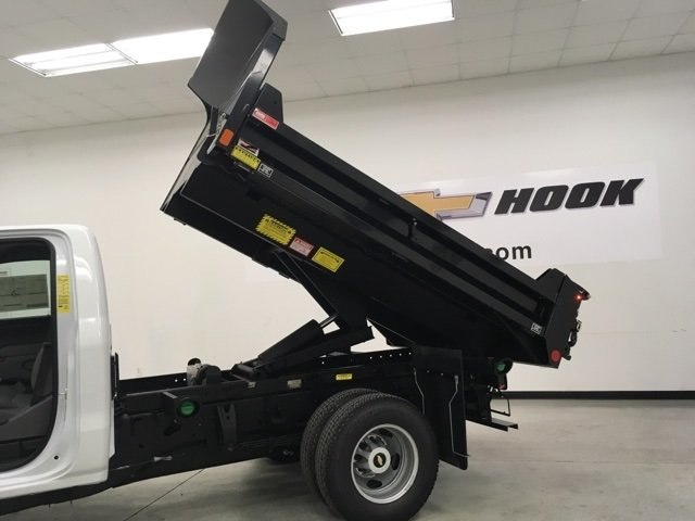 2018 Silverado 3500 Regular Cab DRW 4x4, Monroe Dump Body #180210 - photo 12