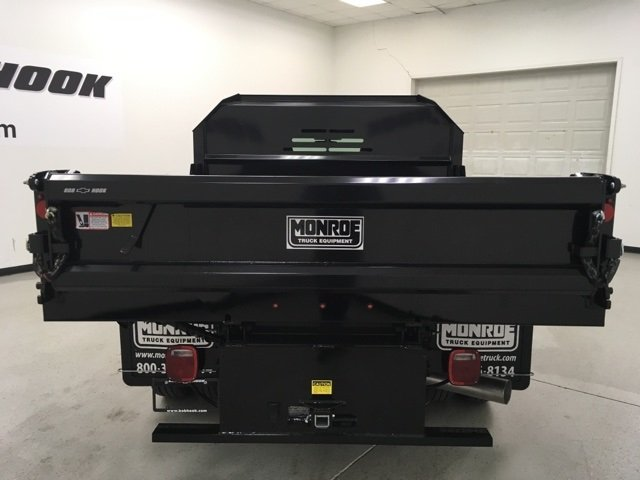 2018 Silverado 3500 Regular Cab DRW 4x4, Monroe Dump Body #180210 - photo 4
