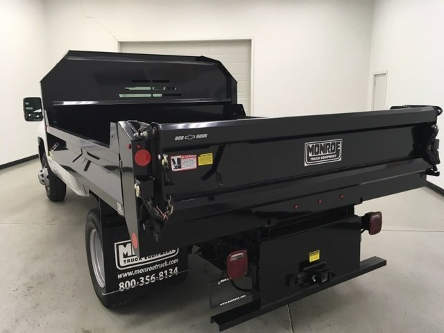 2018 Silverado 3500 Regular Cab DRW 4x4, Monroe Dump Body #180210 - photo 5