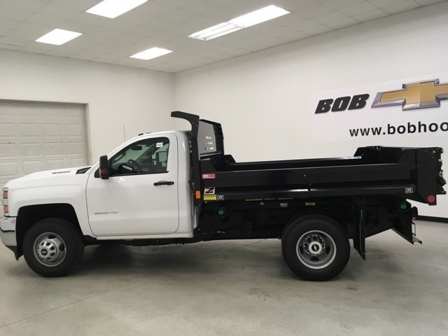 2018 Silverado 3500 Regular Cab DRW 4x4, Monroe Dump Body #180210 - photo 6