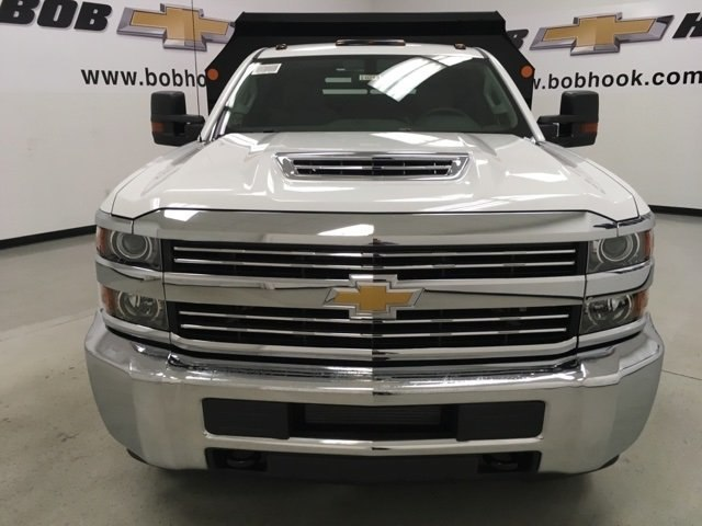 2018 Silverado 3500 Regular Cab DRW 4x4, Monroe Dump Body #180210 - photo 8