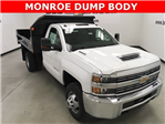 2018 Silverado 3500 Regular Cab DRW 4x4, Monroe Dump Body #180210 - photo 1