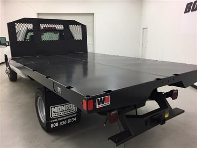 2018 Silverado 3500 Regular Cab DRW 4x4,  Monroe Work-A-Hauler II Platform Body #180214 - photo 4