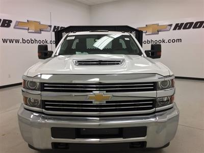 2018 Silverado 3500 Regular Cab DRW 4x4,  Monroe Work-A-Hauler II Platform Body #180214 - photo 6