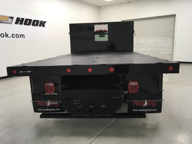 2018 Silverado 3500 Regular Cab, Palfinger Platform Body #180220 - photo 3