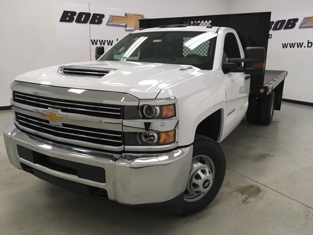 2018 Silverado 3500 Regular Cab, Palfinger Platform Body #180220 - photo 6