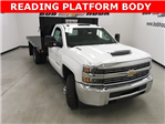 2018 Silverado 3500 Regular Cab, Palfinger Platform Body #180220 - photo 1